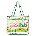 Grandmother Tote Bag: Grandkids Rule!
