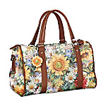 Sunflower Splendor Satchel
