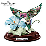 Thomas Kinkade Garden Radiance Hummingbird Sculpture
