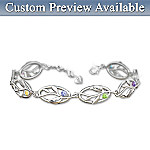 Womens Bracelet: Family Of Love Personalized Bracelet