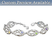 Family Of Love Personalized Bracelet