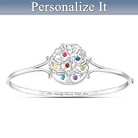 Family Of Love Personalized Bracelet