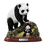 Precious Treasure Panda Sculpture