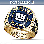 NFL New York Giants 2012 Super Bowl Champions Men's Ring