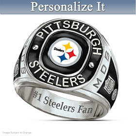 Pittsburgh Steelers Personalized Ring