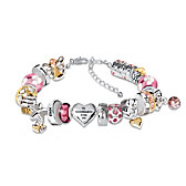 Heartfelt Wishes For My Granddaughter Bracelet