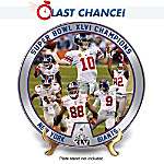 The New York Giants 2012 Super Bowl Champions Collector Plate