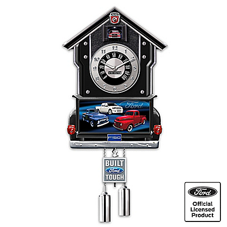 65th Anniversary Ford F-Series Cuckoo Clock