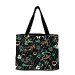 Irish Charm Tote Bag With Free Cosmetic Case
