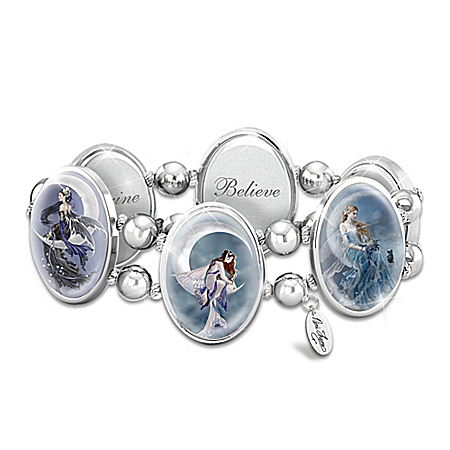 Art Stretch Bracelet: Nene Thomas Moon Dreamer