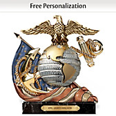 Honor, Courage, Commitment Personalized Sculpture