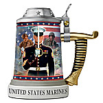 USMC Collectible Porcelain Stein