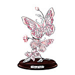 Breast Cancer Awareness Butterfly Sculpture: Wings Of Hope