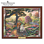 Thomas Kinkade Stained-Glass Wall Decor: Gone With The Wind