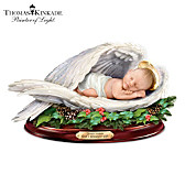 Thomas Kinkade Christmas Blessing Sculpture