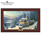 Thomas Kinkade Sunday Evening Sleigh Ride Wall Decor