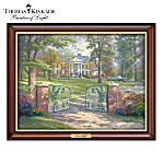 Thomas Kinkade Graceland Illuminating Canvas Print