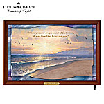 Thomas Kinkade Footprints In The Sand Wall Decor