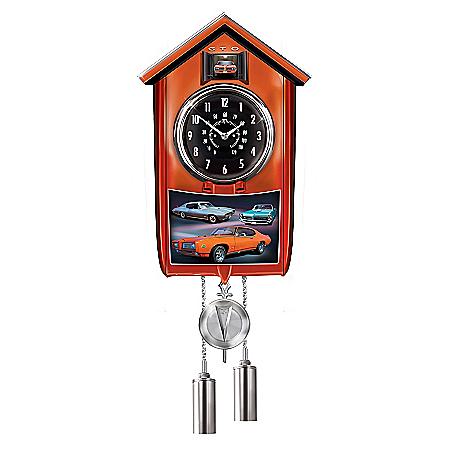 Cuckoo Clock: Pontiac GTO Cuckoo Clock