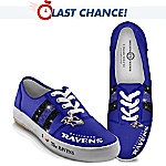 NFL Baltimore Ravens Women's Shoes: I Love The Ravens