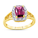 Ring: Perfection Garnet & Diamond Ring