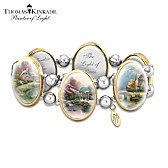 Thomas Kinkade Moments Of Inspiration Bracelet