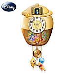 Winnie The Pooh Honey Pot Cuckoo Clock