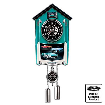 Cuckoo Clock: Ford Thunderbird Cuckoo Clock