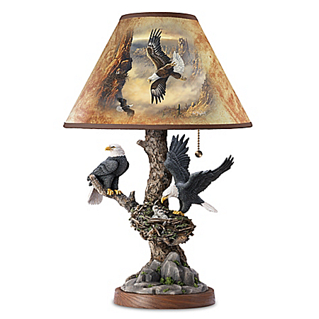 Tree Top Majesty Lamp