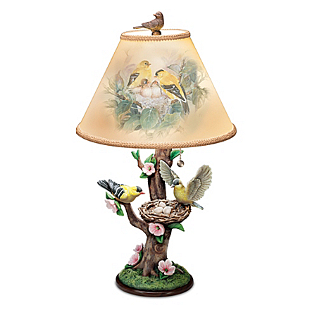 Nature's Poetry Tabletop Lamp