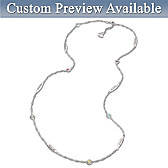 Linked By Love Personalized Necklace
