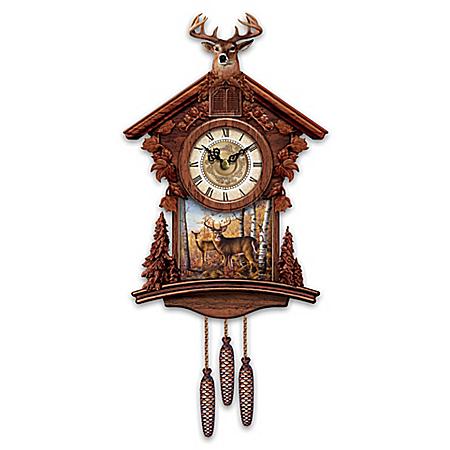 Cuckoo clocks nature and pets - Motorcycle cuckoo clock ...