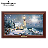 Thomas Kinkade Light Your Way Home Wall Decor
