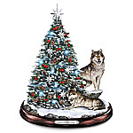 Tabletop Christmas Tree: Winters Majesty Tabletop Christmas Tree