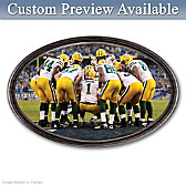 Going The Distance Green Bay Packers Personalized Wall Decor