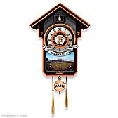 San Francisco Giants Cuckoo Clock