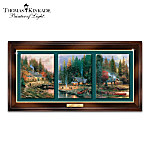 Thomas Kinkade The End Of A Perfect Day Wall Decor