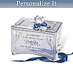 Personalized Graduation Music Box: Reflections Of A Dream