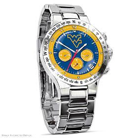 West Virginia Mountaineers Men's Collector's Watch