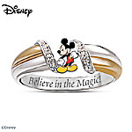 The Magic Of Disney Mickey Mouse Ring