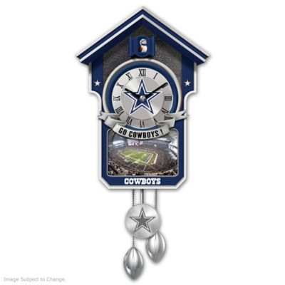 Buy Dallas Cowboys Tribute Wall Clock