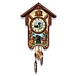 Dachshund Cuckoo Clock