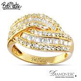 Golden Glamour Ring