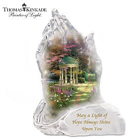 Thomas Kinkade Garden Of Hope Sculpture