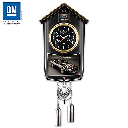 1977 Firebird Trans-Am Special Edition Cuckoo Clock