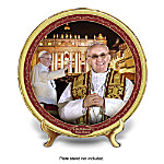 Pope Commemorative Collector Plate: His Holiness, Pope Francis