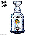 Replica Foot Tall Chicago Blackhawks  2013 Stanley Cup  Sculpture