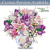 A Mother's Love Personalized Table Centerpiece