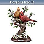 Love Birds Personalized Sculpture