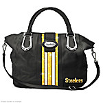 Downtown Chic Pittsburgh Steelers Handbag